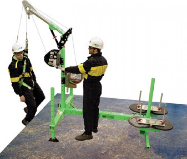 Counterweight Davit System Call Breathe Safety 0844 915 1111